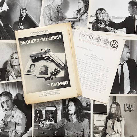 "A press kit from ""The Getaway"""