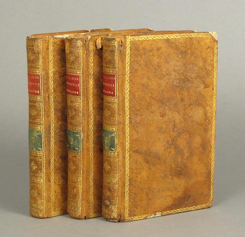 MACKENZIE, ALEXANDER, SIR. Voyages dans l'Interieur de l'Amerique Septentrionale.... Paris: 1802.