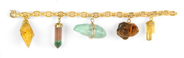 Mineral Crystal Bracelet