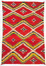 A Navajo transitional rug, 4ft 11in x 3ft 5in