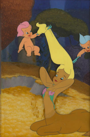 "A Walt Disney celluloid from ""Fantasia"""