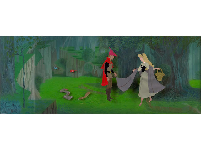 "A Walt Disney celluloid from ""Sleeping Beauty"""