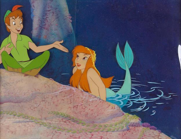 """A Walt Disney celluloid from """"Peter Pan"""""""