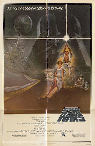 "A ""Star Wars"" group of one-sheet film posters"