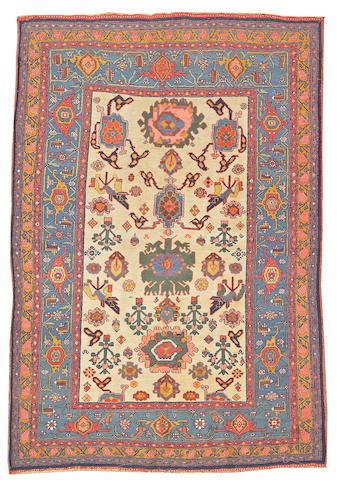 A Bidjar rug Northwest Persia size approximately 5ft. x 7ft. 6in.