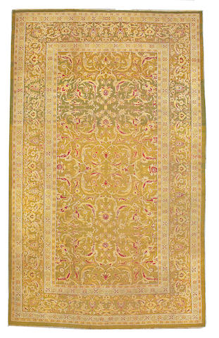 An Amritsar carpet India size approximately 9ft. 4in. x 14ft. 5in.
