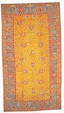 An Oushak carpet West Anatolia size approximately 10ft. 8in. x 19ft. 5in.