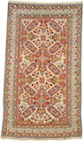 A Shirvan rug Caucasus size approximately 3ft. 8in. x 6ft. 5in.