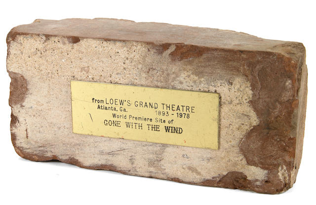"A group of collectibles related to ""Gone with the Wind"""