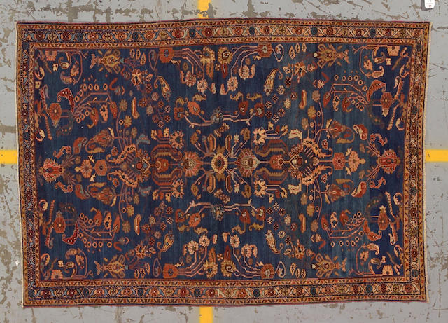 A Lilihan rug Central Persia size approximately 4ft. 9in. x 6ft. 8in.