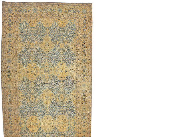 A Lavar Kerman carpet Central Persia size approximately 12ft. x 25ft.