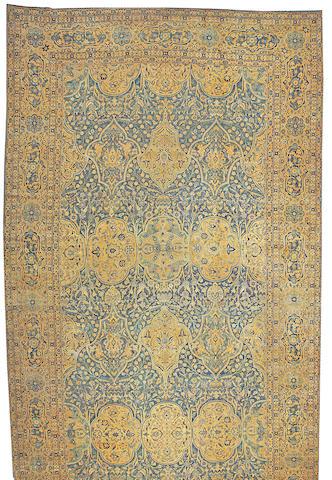 A Lavar Kerman carpet Central Persia size approximately 12ft. x 25ft.