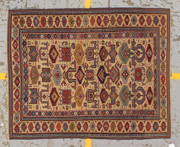 A Shirvan rug Caucasus size approximately 4ft. 9in. x 5ft. 10in.