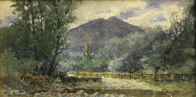C.D. Robinson, Mt. Tamalpais, o/c