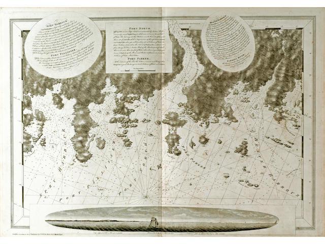 DES BARRES, JOSEPH F. WALLET. 1722-1824.