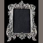 A group of three sterling mounted frames