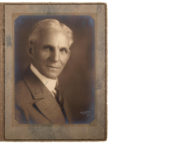 FORD, HENRY.  1863-1947.