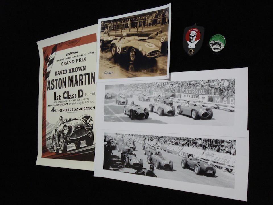 Bonhams : Motorsport collectables and memorabilia,