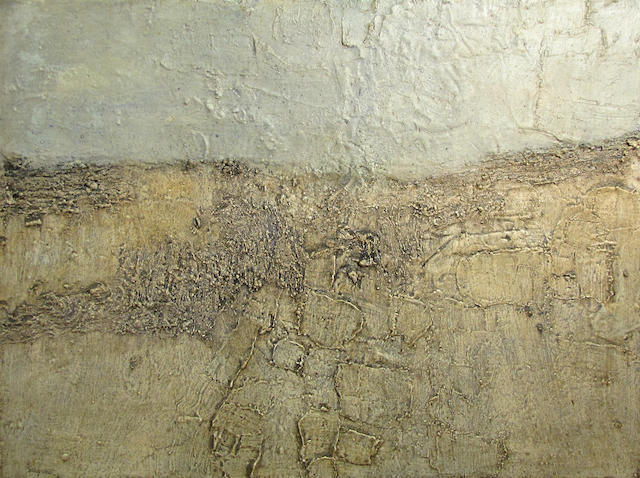 (n/a) Louis Siegriest (American, 1899-1989) Desert plateau, 1961 36 x 48in
