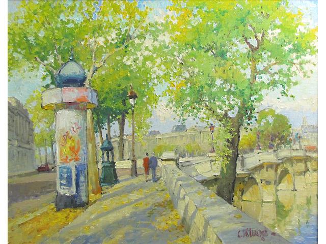 Constantine Kluge, Le Pont Neuf