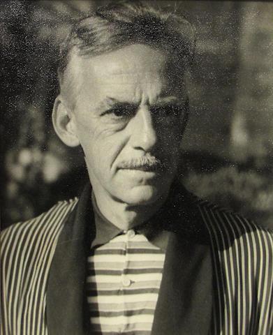 Carl van Vechten (American, 1880-1964); Eugene O'Neill, Seal Island Beach 1934;