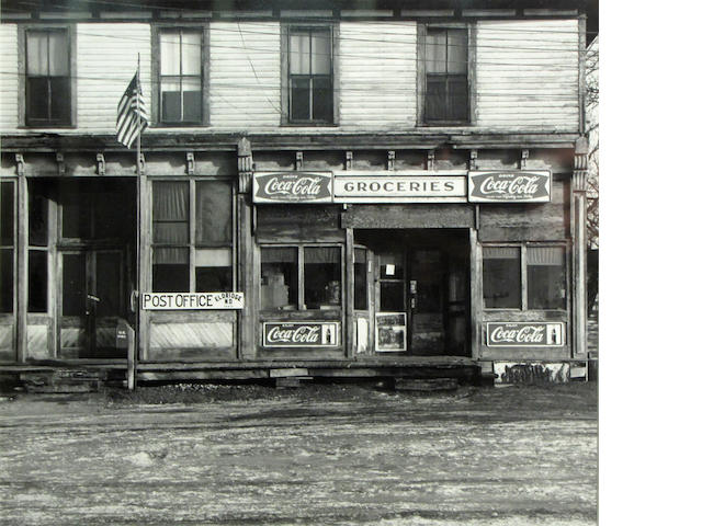 David Plowden; Post Office and General Store 1972;