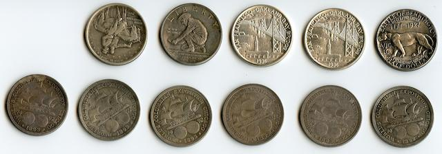 Commemorative Half Dollars (11)