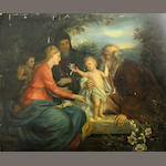 Continental School The Holy Family 35 x 42in