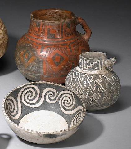 Three Anasazi vessels