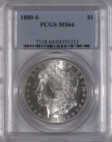 1880-S $1 MS64 PCGS (8)