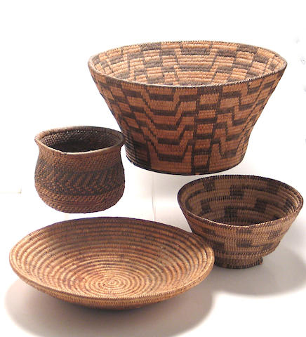 Four Southwest baskets
