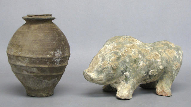 Two early Chinese ceramics
