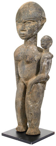 A Lobi maternity figure20.5 height of figure 20in