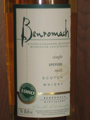 Benromach-1980  Benromach- 1974  Benromach- 1973  Benromach- 21 year old  Benromach- 22 year old