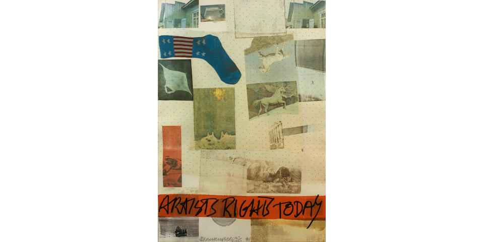 Robert Rauschenberg (American, 1925-2008); Artists Rights Today;