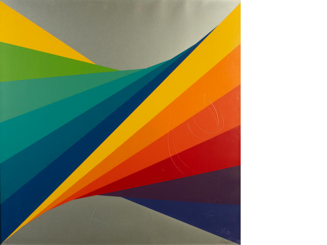 Herbert Bayer (German/American, 1900-1985); Chromatic Twist;