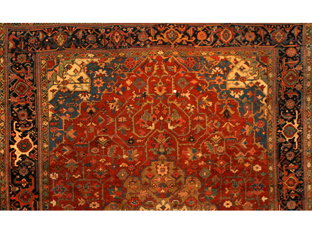 A Tabriz carpet Northwest Persia size approximately 18ft. 10in. x 22ft. 9in.