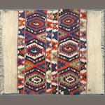 A Kilim size approximately 3ft. 5in. x 4ft.