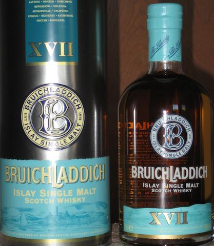 Bruichladdich- 17 year old-1984  Bruichladdich-1984  Bruichladdich- 18 year old  Bruichladdich- XVII  Bruichladdich- 12 year old  Bruichladdich- 15 year old (2)