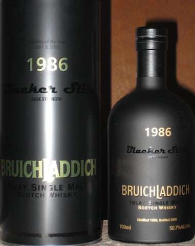 Bruichladdich-1986  Bruichladdich-1986  Bruichladdich- 1989  Bruichladdich- 14 year old- 1991