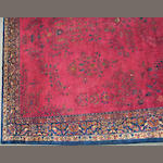 An Indo-Kashan carpet size approximately 12ft. 5in. x 20ft.