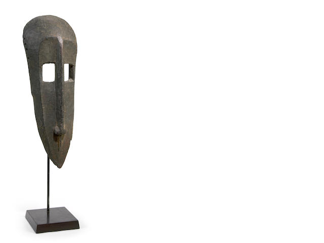 A Bamana mask, Mali height 19 1/2in