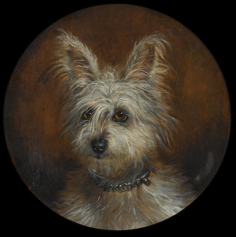 B.A. Howe (British) Portrait of a Skye Terrier