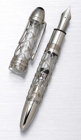 MONTBLANC: Skeleton 333 Limited Edition Fountain Pen