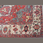 A pair of contemporary Persian carpets size approximately 9ft. 6in. x 12ft. 5in.