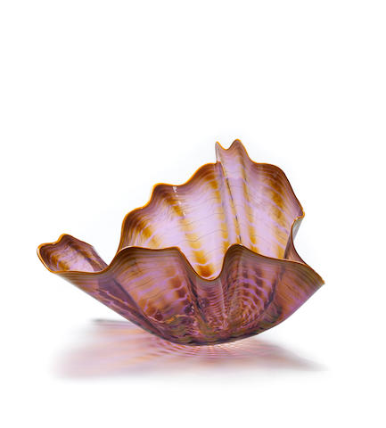(n/a) Dale Chihuly (American, born 1941) Persian, 1992 13 3/4 x 22 x 20 1/2in