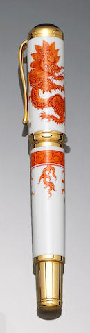 MONTBLANC: Year of the Golden Dragon Limited Edition 888 Fountain Pen