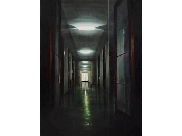 (n/a) Peter Waite (American, born 1950) Corridor, 1990 overall 96 x 72in