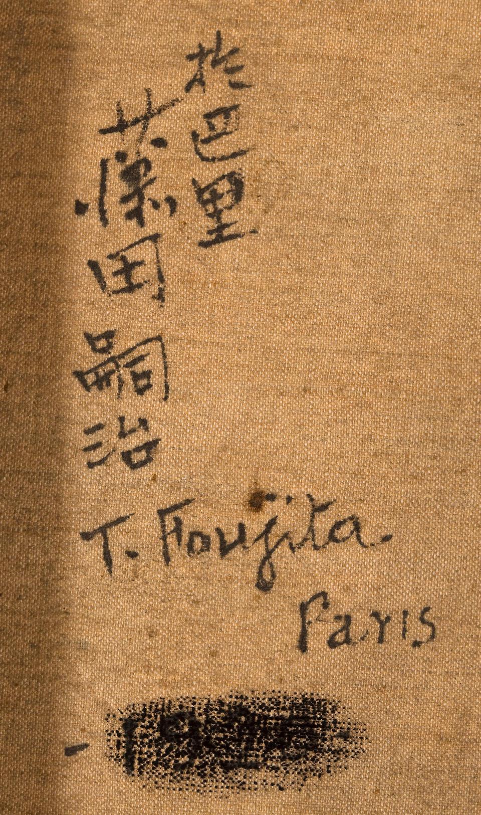LEONARD TSUGUHARU FOUJITA (1886-1968) Portrait of a young man