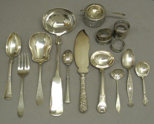 Quantity of Sterling Flatware